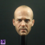New 1/6 Jason Statham Action Figure Head Sculpt