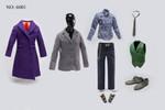 Custom 1/6 Joker action figure Costume set