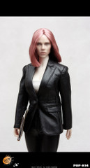 POPTOYS 1/6 action figure X14 The  Female Spy Leather Suit of style series