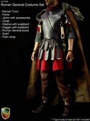 ACI Toys 1/6 Roman General Costume Set