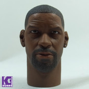 Super Duck 1/6 Custom Head Sculpt-Denzel washington, The training