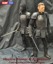 Figure Club The League of Shadow Ninja Shadow Master & Apprentice 1/6 action figure
