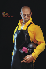 WOLFKING Chemical poisoning teacher 1/6 action figure