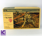 Hasegawa Space Humanoid Type Unmanned Interceptor Groserhund Altair 1/20 scale Model Kit