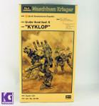 Hasegawa 1/20 Humanoid Interceptor Kyklop Limited Edition mode kit
