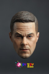 Super Duck 1/6 Custom Head Sculpt H003-Mark Wahlberg