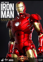Hot Toys – MMS256D07 – Iron Man: 1/6th scale Mark III Collectible Figure – Preorder Now