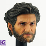 Custom Hugh Jackman Wolverine1/6 scale head sculpt