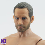 First Rate Paul Walker 1/6 scale action figure head sculpt