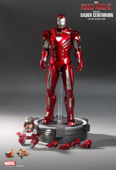 HOT TOYS MMS213 IRON MAN 3 SILVER CENTURION (MARK XXXIII) 1/6TH SCALE COLLECTIBLE FIGURINE SPCIAL EDITION