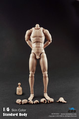 COOMODEL 1/6 Male Narrow Shoulder Nude Action Figure Body-Extra Height