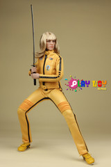 Play toy 1/6 P004 Bride Killer 2.0 action figure-Custom Kill Bill Uma Thurman-in stock