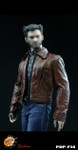 POP TOYS F14 1/6 scale Wolverine Retro Leather suit