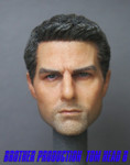 Brother Production Custom 1/6 Scale Head Sculpt-Tom Curise Ver B