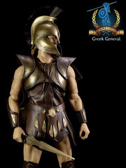 Pangaea Toy 1/6th Scale Greek General Action Figure PG01