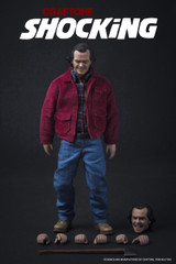 CRAFTONE 1/6 Shocking action figure 2 Head Sculpt set