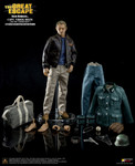 STAR ACE TOYS SA007 THE GREAT ESCAPE CAPT. VIRGIL HILTS Steve McQueen 1/6 action figure Deluex Version