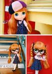 "Takara CWC 12"" Neo Blythe Doll Les Jeunette"