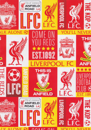 Liverpool Football Club - Gift Wrapping Paper