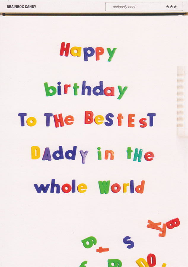 Happy Birthday Daddy Card Well Cool CardSpark – Happy Birthday Dad Card