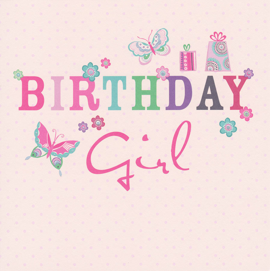 Birthday cards girl body, and