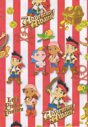 Jake And The Never Land Pirates - Wrapping Paper