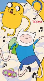 Adventure Time - 9th Birthday Card