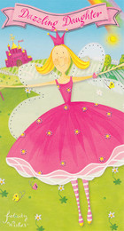 Felicity Wishes - Daughter Birthday Card