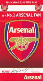 Arsenal F.C. Birthday Card