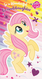 My Little Pony - Granddaughter's Birthday Card