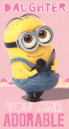 Despicable Me - Daughter's Birthday Card