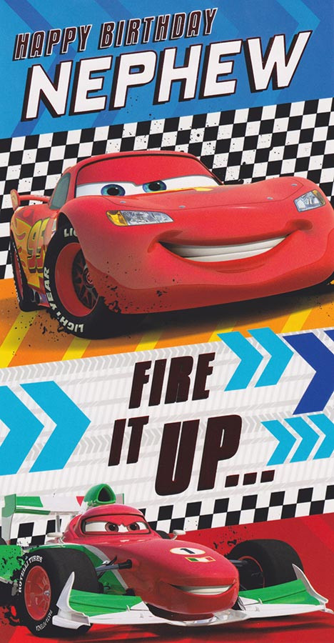 Disney Cars Nephew Birthday Card CardSpark – Disney Cars Birthday Cards