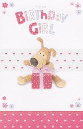 Boofle - Birthday Girl's Card