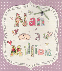 Carlton Cards - Nan Birthday Card
