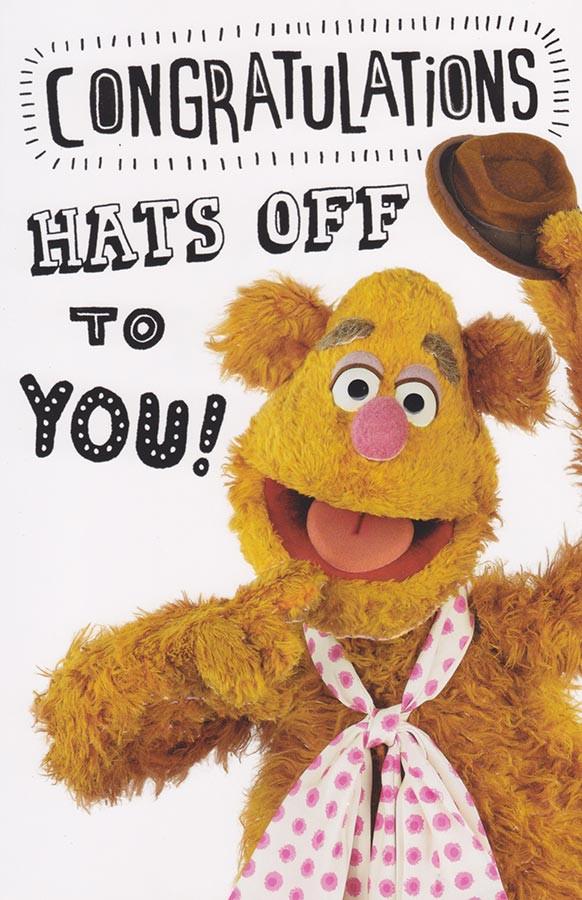 The Muppets Birthday Card Gonzo CardSpark – Muppet Birthday Card