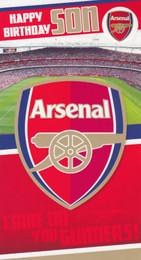 Arsenal F.C. - Son Birthday Card