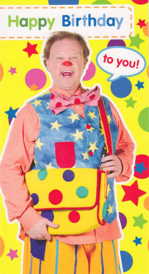Mr Tumble Something Special Birthday Card CardSpark – Mr Tumble Birthday Card