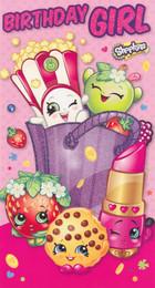 Shopkins Birthday Girl Card