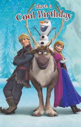 Frozen - Cool Birthday Card