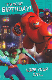 Big Hero 6 - Birthday Card