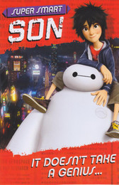 Big Hero 6 - Son's Birthday Card