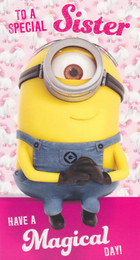 Minion Made - Special Sister Birthday Card