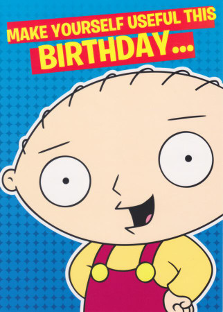 Happy Birthday Family Guy
