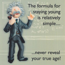 Albert Einstein Birthday Card