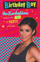 Kim Kardashian - Birthday Card