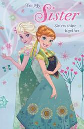 Disney Frozen - Sister's Birthday Card