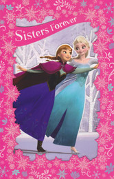 Frozen - Sisters Forever Birthday Card