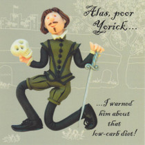 Shakespeare greeting card