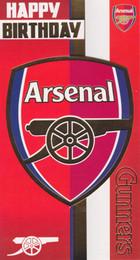 Arsenal Football Club - Crest Birthday Card