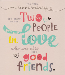 CCI Two People In Love Anniversary